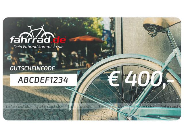 fahrrad.de Geschenkgutschein 400 €
